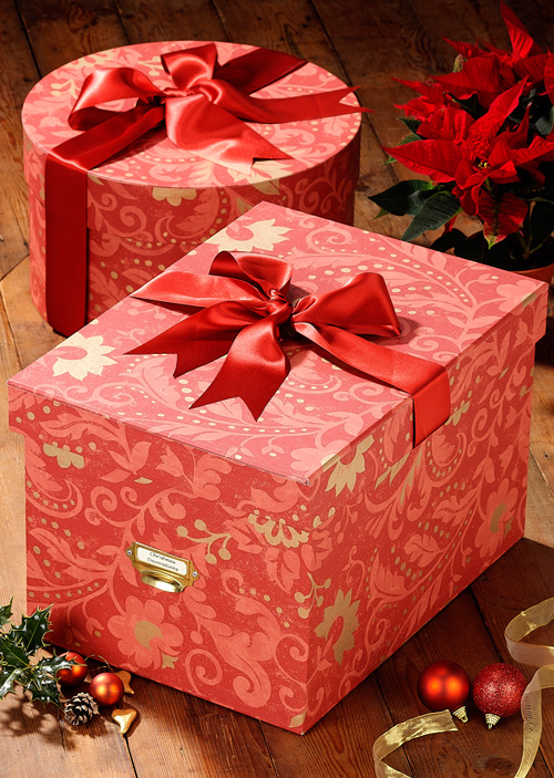 Украшенные коробки с подарками 588